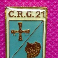 Pins de colección: PIN POLICÍA NACIONAL. COMPAÑÍA DE RESERVA GENERAL. Nº 21 OVIEDO . Lote 147949738