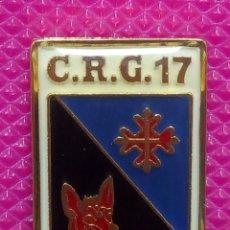 Pins de colección: PIN POLICÍA NACIONAL. COMPAÑÍA DE RESERVA GENERAL. Nº 17 MADRID . Lote 147949802