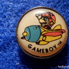 Pins de colección: PIN - GAMEBOY - GAME BOY - TM. Lote 147950226