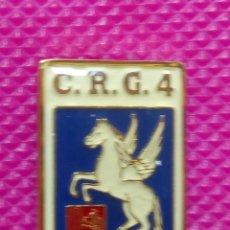 Pins de colección: PIN POLICÍA NACIONAL. COMPAÑÍA DE RESERVA GENERAL. Nº 4 ZARAGOZA. Lote 147950254