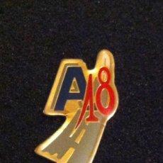 Pins de colección: PIN ANTIGUA DISCOTECA A18 (SABADELL). Lote 148151834