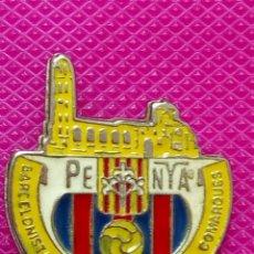 Pins de colección: PIN PEÑA BARCELONISTA DE LLEIDA I COMARCAS . Lote 148152154