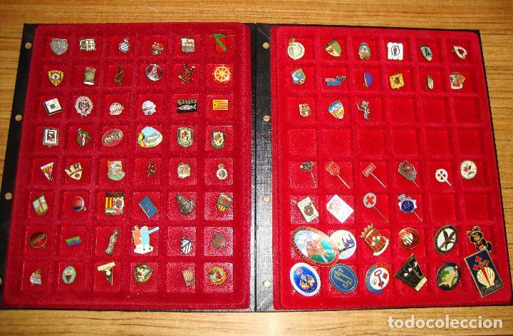 (TC-170) ANTIGUA COLECCION DE INSIGNIAS PIN AGUJA 85 UNIDADES TEMATICA MUY INTERESANTE VER FOTOS (Coleccionismo - Pins)
