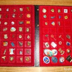 Pins de colección: (TC-170) ANTIGUA COLECCION DE INSIGNIAS PIN AGUJA 85 UNIDADES TEMATICA MUY INTERESANTE VER FOTOS. Lote 148503230