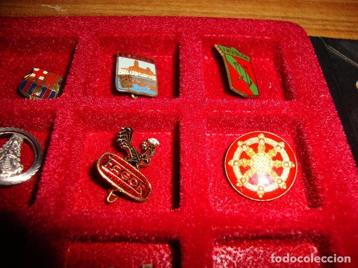 Pins de colección: (TC-170) ANTIGUA COLECCION DE INSIGNIAS PIN AGUJA 85 UNIDADES TEMATICA MUY INTERESANTE VER FOTOS - Foto 8 - 148503230