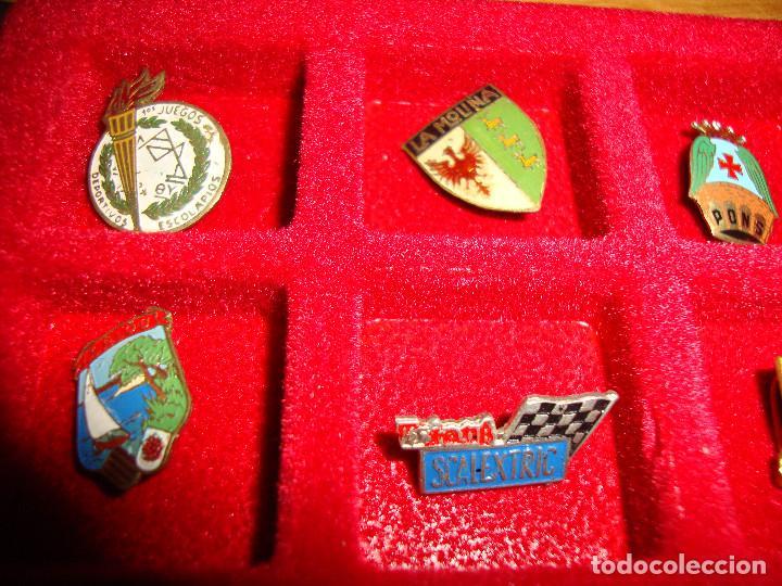 Pins de colección: (TC-170) ANTIGUA COLECCION DE INSIGNIAS PIN AGUJA 85 UNIDADES TEMATICA MUY INTERESANTE VER FOTOS - Foto 18 - 148503230
