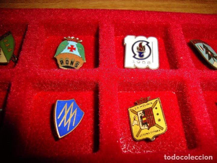 Pins de colección: (TC-170) ANTIGUA COLECCION DE INSIGNIAS PIN AGUJA 85 UNIDADES TEMATICA MUY INTERESANTE VER FOTOS - Foto 19 - 148503230