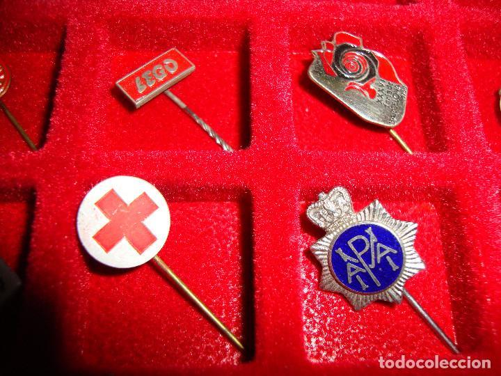 Pins de colección: (TC-170) ANTIGUA COLECCION DE INSIGNIAS PIN AGUJA 85 UNIDADES TEMATICA MUY INTERESANTE VER FOTOS - Foto 23 - 148503230