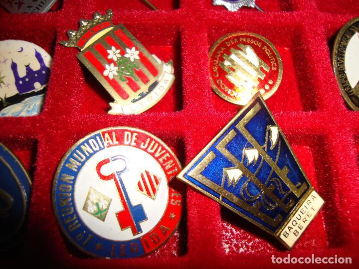 Pins de colección: (TC-170) ANTIGUA COLECCION DE INSIGNIAS PIN AGUJA 85 UNIDADES TEMATICA MUY INTERESANTE VER FOTOS - Foto 26 - 148503230