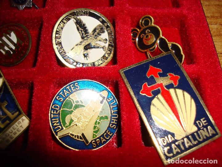 Pins de colección: (TC-170) ANTIGUA COLECCION DE INSIGNIAS PIN AGUJA 85 UNIDADES TEMATICA MUY INTERESANTE VER FOTOS - Foto 27 - 148503230