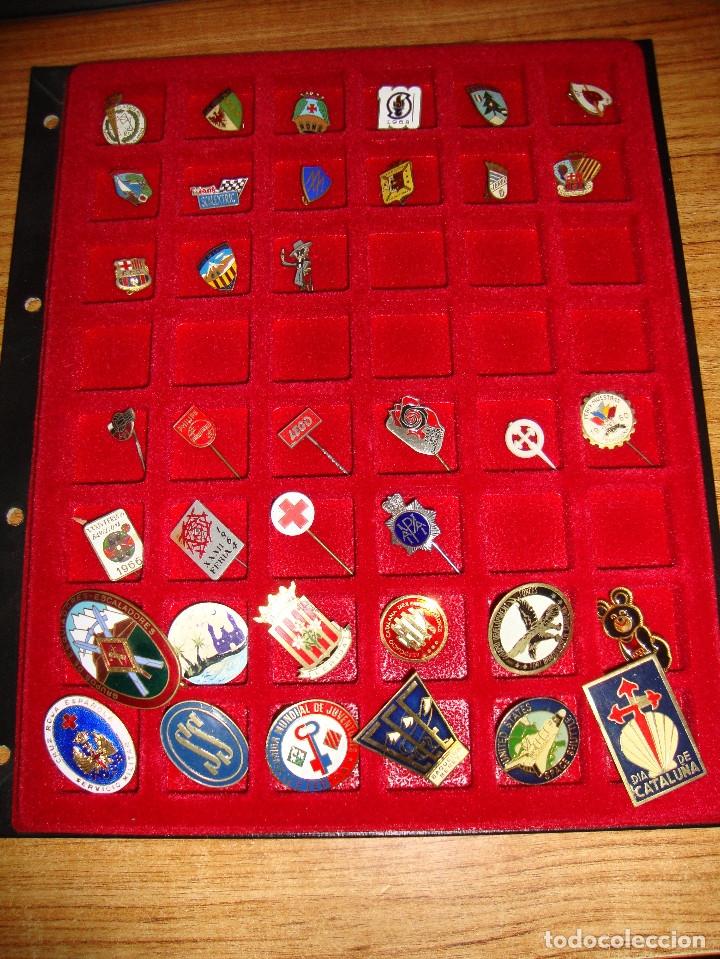 Pins de colección: (TC-170) ANTIGUA COLECCION DE INSIGNIAS PIN AGUJA 85 UNIDADES TEMATICA MUY INTERESANTE VER FOTOS - Foto 29 - 148503230