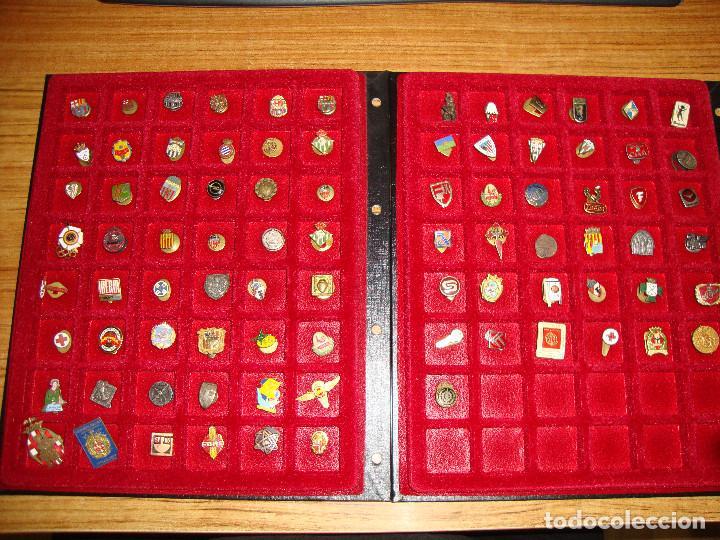 (TC-170) ANTIGUA COLECCION DE INSIGNIAS PIN SOLAPA 84 UNIDADES TEMATICA MUY INTERESANTE VER FOTOS (Coleccionismo - Pins)