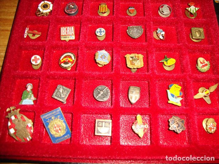 Pins de colección: (TC-170) ANTIGUA COLECCION DE INSIGNIAS PIN SOLAPA 84 UNIDADES TEMATICA MUY INTERESANTE VER FOTOS - Foto 3 - 148504070