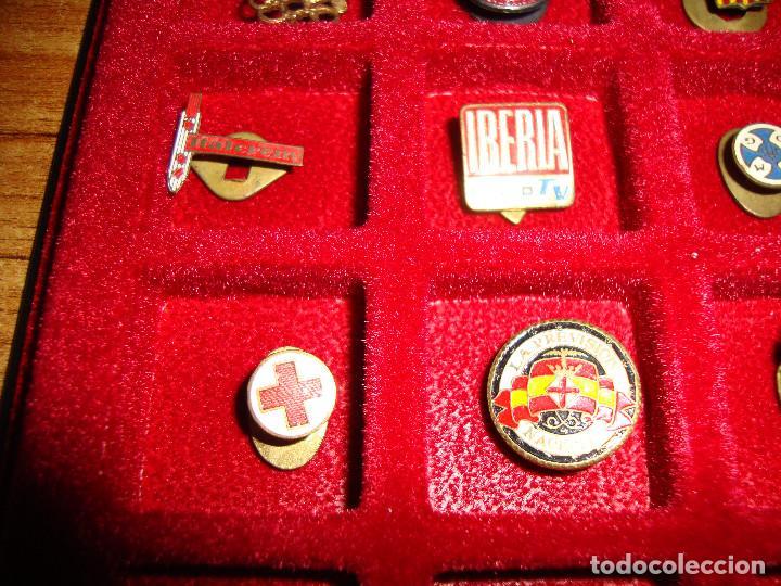 Pins de colección: (TC-170) ANTIGUA COLECCION DE INSIGNIAS PIN SOLAPA 84 UNIDADES TEMATICA MUY INTERESANTE VER FOTOS - Foto 12 - 148504070