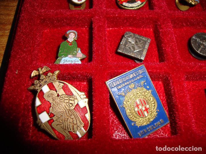 Pins de colección: (TC-170) ANTIGUA COLECCION DE INSIGNIAS PIN SOLAPA 84 UNIDADES TEMATICA MUY INTERESANTE VER FOTOS - Foto 15 - 148504070