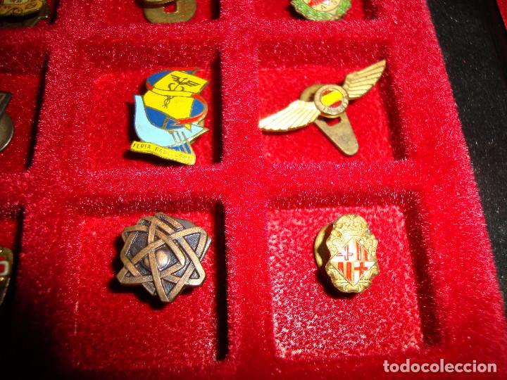 Pins de colección: (TC-170) ANTIGUA COLECCION DE INSIGNIAS PIN SOLAPA 84 UNIDADES TEMATICA MUY INTERESANTE VER FOTOS - Foto 17 - 148504070
