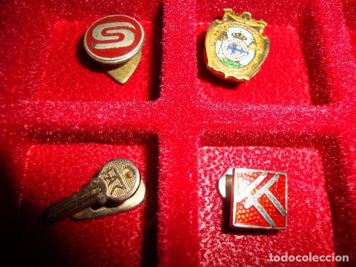 Pins de colección: (TC-170) ANTIGUA COLECCION DE INSIGNIAS PIN SOLAPA 84 UNIDADES TEMATICA MUY INTERESANTE VER FOTOS - Foto 24 - 148504070