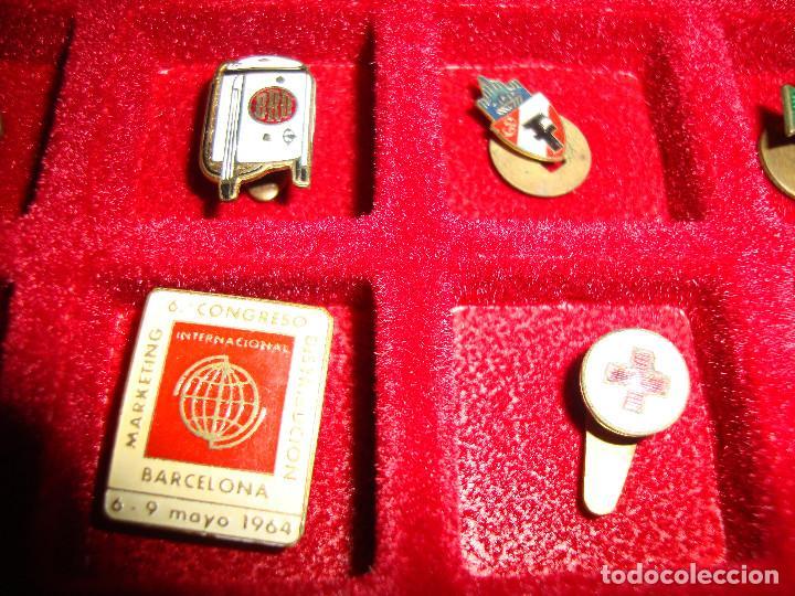 Pins de colección: (TC-170) ANTIGUA COLECCION DE INSIGNIAS PIN SOLAPA 84 UNIDADES TEMATICA MUY INTERESANTE VER FOTOS - Foto 25 - 148504070