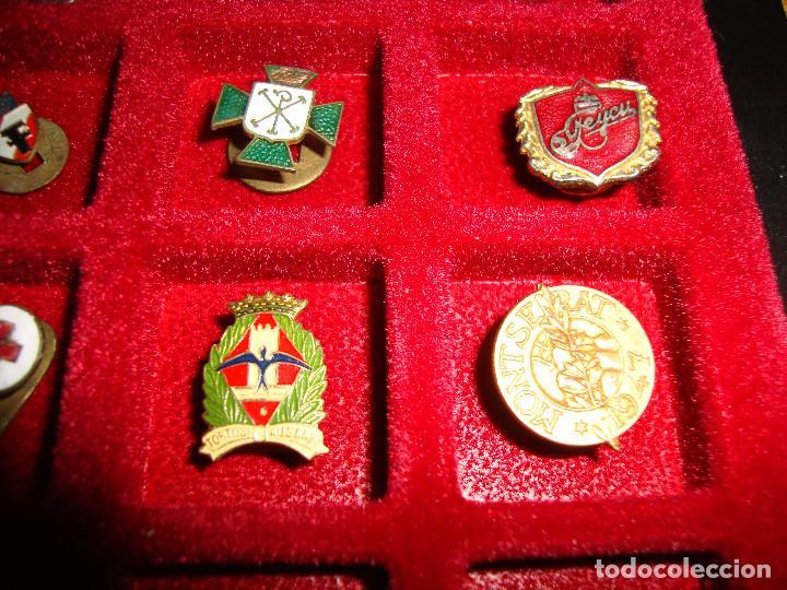 Pins de colección: (TC-170) ANTIGUA COLECCION DE INSIGNIAS PIN SOLAPA 84 UNIDADES TEMATICA MUY INTERESANTE VER FOTOS - Foto 26 - 148504070