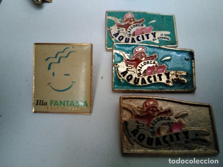 PINS AQUACITY MALLORCA (3 IGUALES CONLA PUA PARTIDA) (VER FOTO ADICIONAL) (Coleccionismo - Pins)