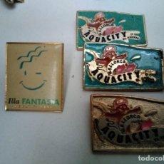Pins de colección: PINS AQUACITY MALLORCA (3 IGUALES CONLA PUA PARTIDA) (VER FOTO ADICIONAL). Lote 148625182