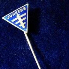 Pins de colección: ANTIGUA INSIGNIA PIN DE AGUJA IMPERDIBLE JUNKERS. Lote 148749358