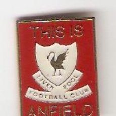 Pins de colección: 1 PIN /PINS - FÚTBOL INTERNACIONAL - ANFIELD - LIPERPOOL FOOTBALL CLUB. Lote 148894550
