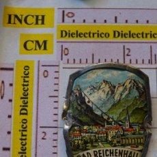 Pin's de collection: BONITA INSIGNIA CHAPA METÁLICA DE TURISMO. BAD REICHENHALL, ALEMANIA . Lote 149000370