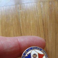Pins de colección: PIN POLICIA MUNICIPAL FRANCESA . Lote 149699258