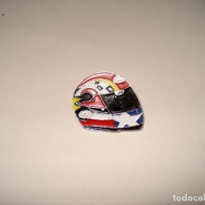 Pins de colección: PIN CASCO MOTO ARAL. MEDIDAS: 24 X 27 MM. Lote 149992174
