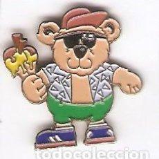 Pins de colección: 1 PIN / PINS - DIBUJOS ANIMADOS - OSITO CON HELADO. Lote 150287742