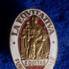 Spille di collezione: INSIGNIA DE OJAL - LA EQUITATIVA - EQUITAS - FUNDACIÓN ROSILLO - SEGUROS. Lote 151467038
