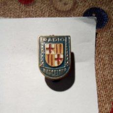 Pins de colección: PIN DE AGUJA RADIO BARCELONA . Lote 151629750