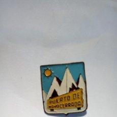 Pins de colección: PIN DE AGUJA PUERTO DE NAVACERRADA. Lote 151983778
