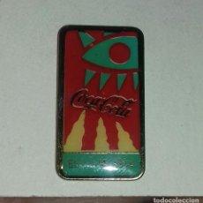 Pins de colección: PIN COCA COLA ES LA MÚSICA . Lote 152591586