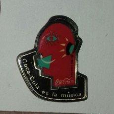 Pins de colección: PIN COCA COLA ES LA MÚSICA . Lote 152591790