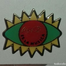 Pins de colección: PIN COCA COLA ES LA MÚSICA . Lote 152591878