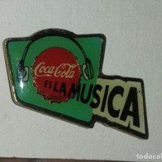 Pins de colección: PIN COCA COLA ES LA MÚSICA . Lote 152591946