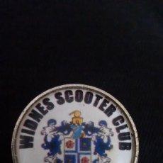 Pins de colección: 1 PIN / PINS - INSIGNIA INGLATERRA - CLUB DE MOTOS - WIDNES SCOOTER CLUB - VER FOTO DE REVERSO. Lote 152663842