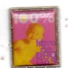 Pins de colección: PIN-LIBRE DE DROGAS. Lote 152953994