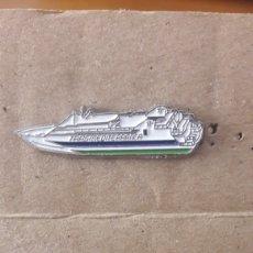 Pins de colección: PIN CRUCERO TRANSMEDITERRANEA. Lote 153195549