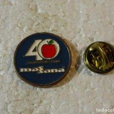 Pins de colección: PIN DE MARCAS DE ROPA. 40 AÑOS DE MASSANA. . Lote 154201330