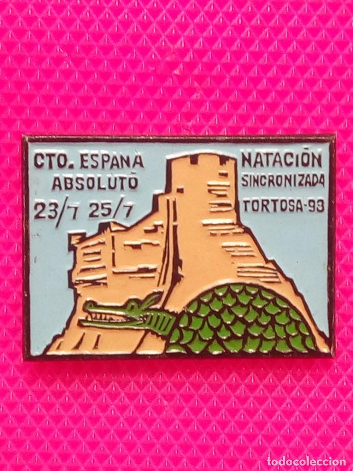 PIIN CAMPEONATO NATACIÓN SINCRONIZADA TORTOSA 1993 (Coleccionismo - Pins)