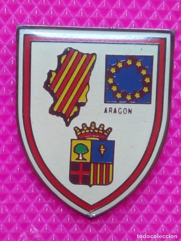 PIN ESCUDO ARAGON (Coleccionismo - Pins)