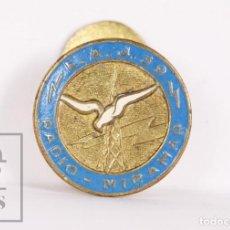 Pins de colección: INSIGNIA DE SOLAPA / OJAL PUBLICITARIA - RADIO MIRAMAR EAJ 39 - DIÁMETRO 15 MM. Lote 156081954