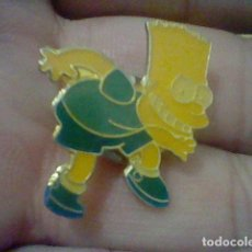 Pins de colección: BART SIMPSON SIMPSON´S RIENDO PIN GOTA. Lote 156107418