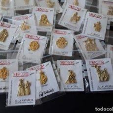 Pins de colección: IMÁGENES E INSIGNIAS SEMANA SANTA SEVILLA. Lote 156302294