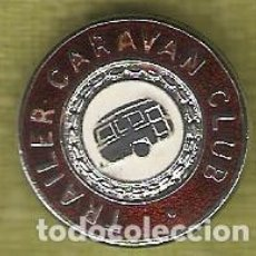 Pin's de collection: 1 PIN / PINS - INSIGNIA INGLATERRA - TRAILER CARAVAN CLUB. Lote 156336614