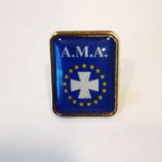 Pins de colección: PINS SEGUROS A.M.A. NUEVO. Lote 156512214