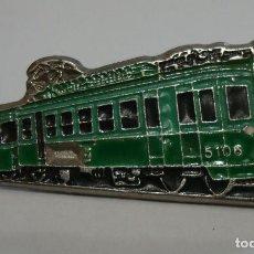 Pins de colección: PIN TEMA FERROCARRILES TRENES TREN AMPLIA TU COLECCION. Lote 156703838